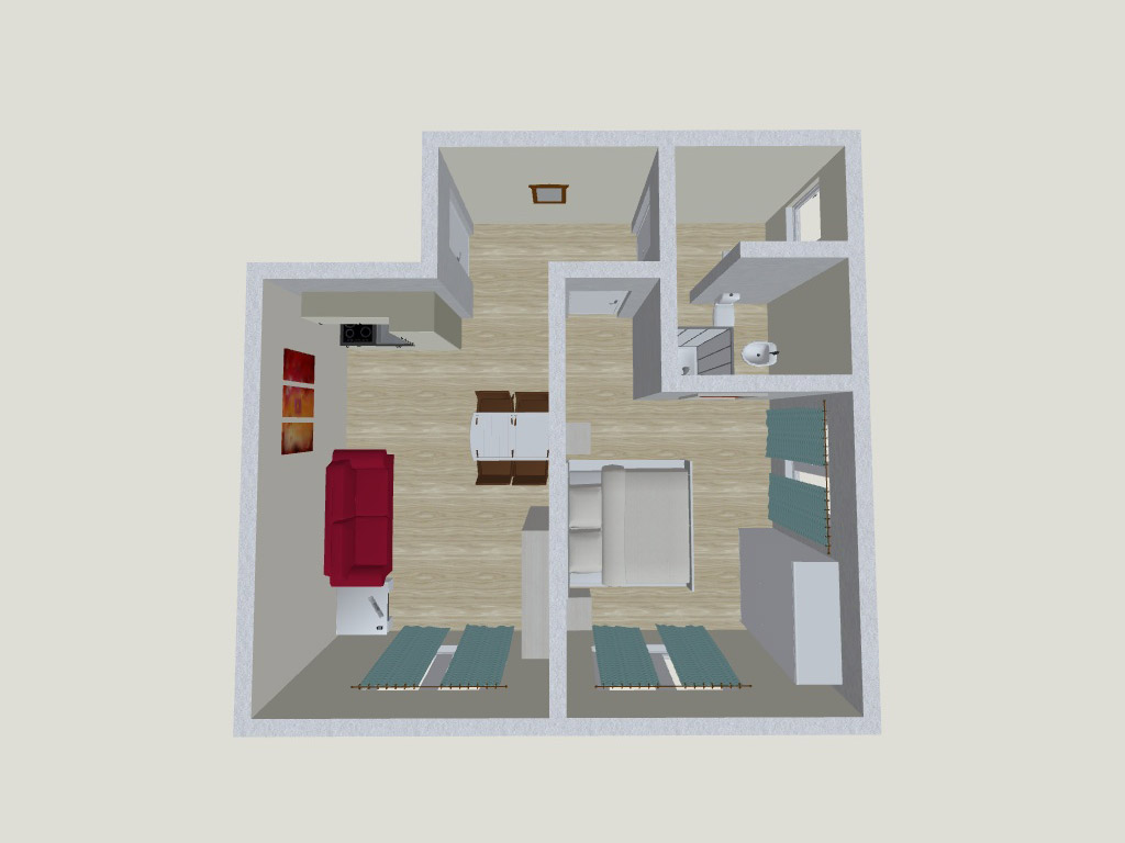 Apartment 2<br><span style='font-size:14px'>up to 4 persons</span>