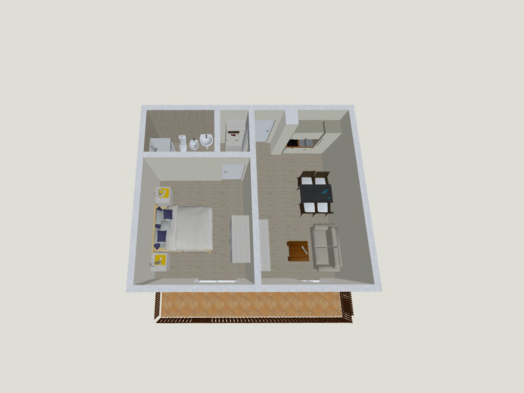 Apartment 3<br><span style='font-size:14px'>up to 4 persons</span>