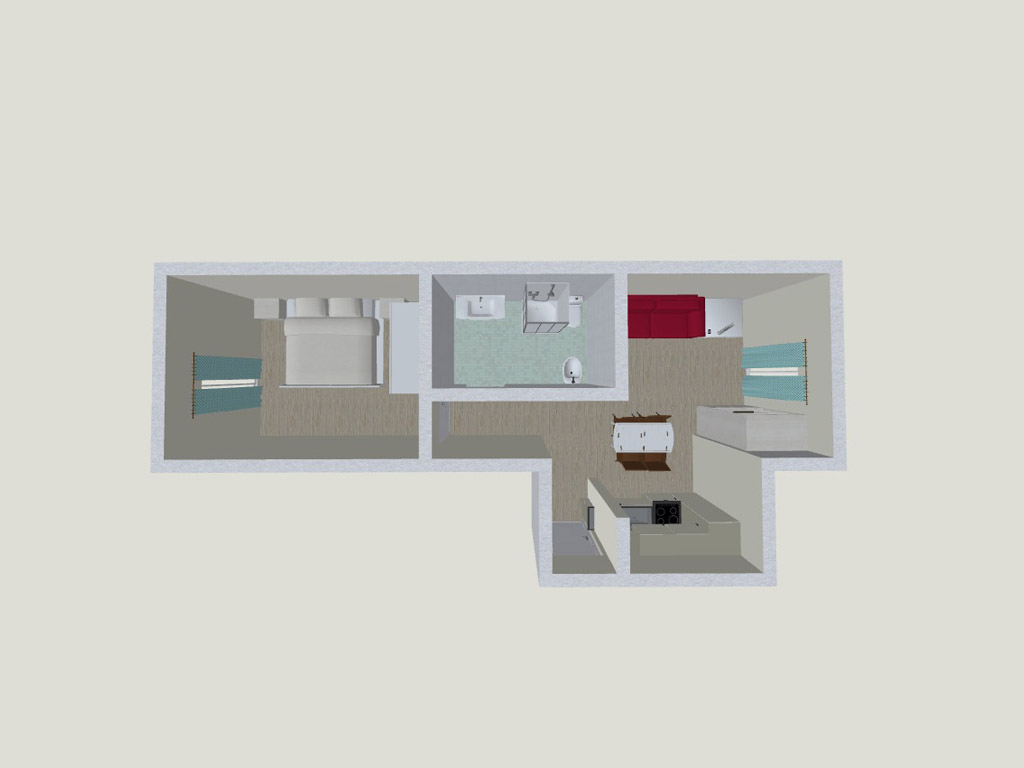 Apartment 5<br><span style='font-size:14px'>up to 4 persons</span>